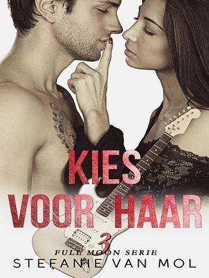 cover image of Kies voor haar