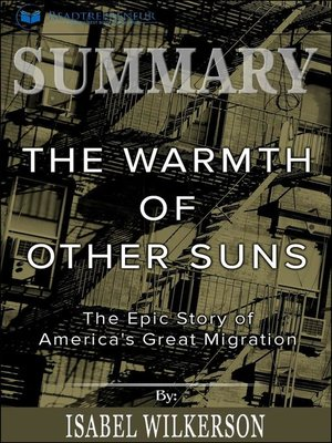 cover image of Summary of the Warmth of Other Suns