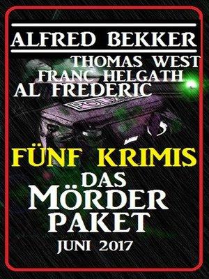 cover image of Fünf Krimis