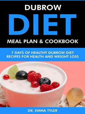 cover image of Dubrow Diet Meal Plan & Cookbook