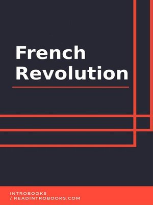 cover image of French Revolution