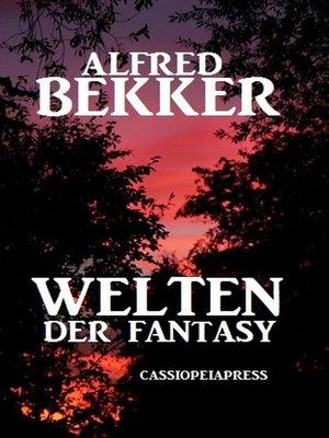 cover image of Welten der Fantasy