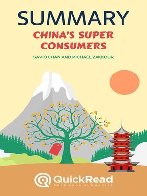 """cover image of Summary of """"China's Super Consumers"""" by Savio Chan and Michael Zakkour"""