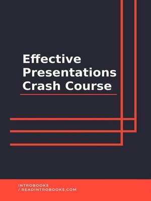 cover image of Effective Presentations Crash Course