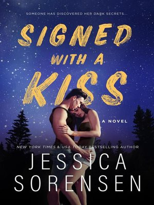 cover image of Signed with a Kiss