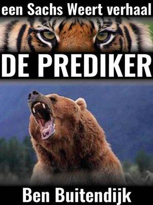 cover image of De Prediker