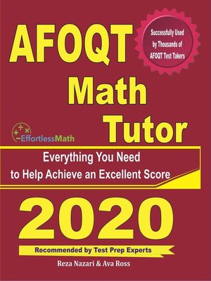 cover image of AFOQT Math Tutor