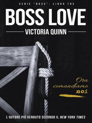 cover image of Boss Love (Italian)