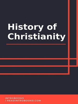 cover image of History of Christianity