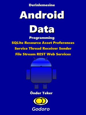 cover image of Derinlemesine Android Data Programming
