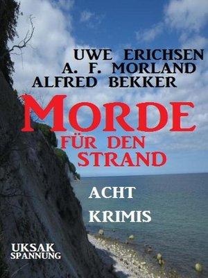 cover image of Morde für den Strand
