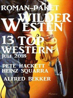 cover image of Roman-Paket Wilder Westen