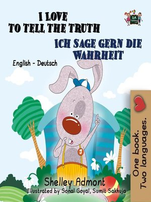 cover image of I Love to Tell the Truth Ich sage gern die Wahrheit