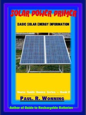 cover image of Solar Power Primer