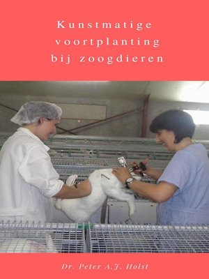 cover image of Kunstmatige voortplanting bij zoogdieren