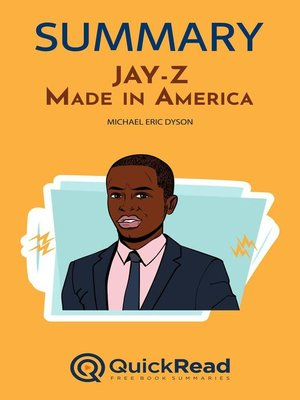 """cover image of Summary of """"JAY-Z"""