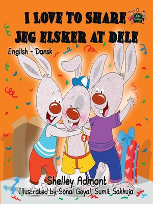 cover image of I Love to Share Jeg Elsker at Dele
