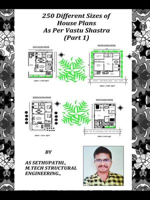 cover image of 250 Different Sizes of House Plans As Per Vastu Shastra (Part -1)
