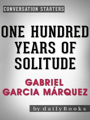 cover image of One Hundred Years of Solitude