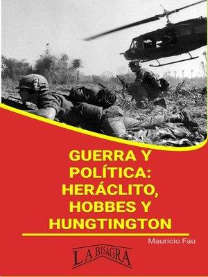 cover image of Guerra y política