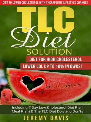 Tlc diet meal plans