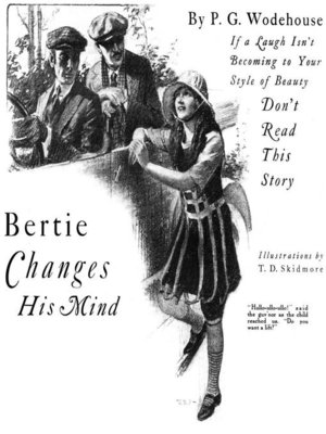 cover image of Bertie Changes His Mind