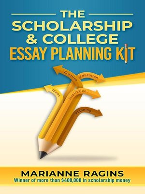 cover image of The Scholarship & College Essay Planning Kit