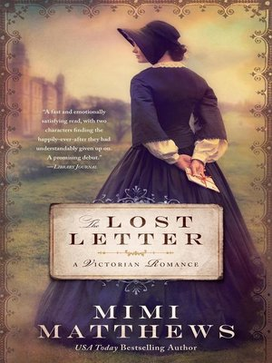 cover image of The Lost Letter