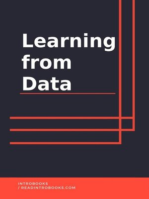 cover image of Learning from Data