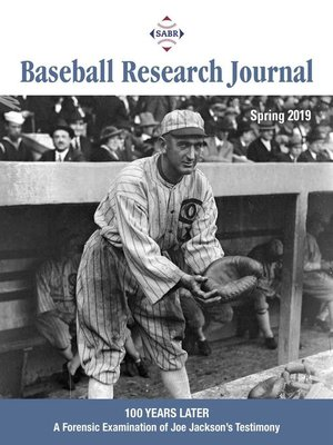 cover image of Baseball Research Journal (BRJ), Volume 48, #1