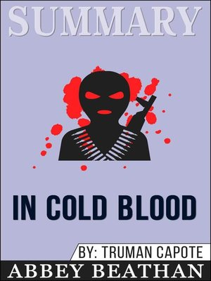 cover image of Summary of In Cold Blood by Truman Capote