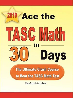 cover image of Ace the TASC Math in 30 Days