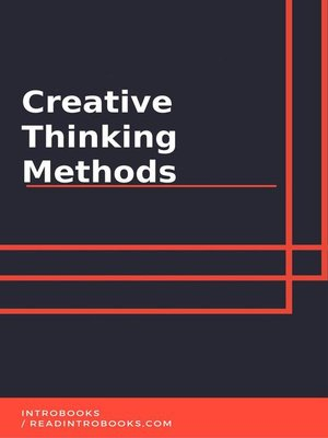 cover image of Creative Thinking Methods