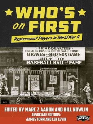 cover image of Who's on First