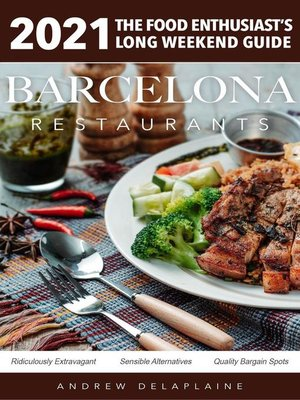 cover image of 2021 Barcelona Restaurants