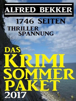 cover image of 1746 Seiten Thriller Spannung