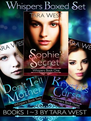 cover image of Whispers, Books 1-3