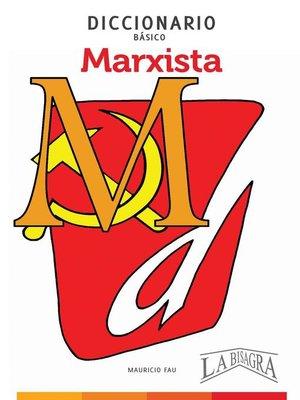 cover image of Diccionario Básico Marxista