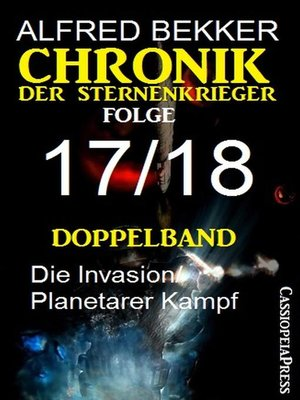 cover image of Doppelband Chronik der Sternenkrieger Folge 17/18