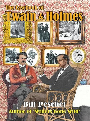 cover image of The Casebook of Twain and Holmes