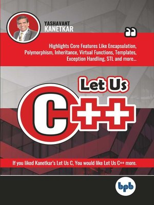 cover image of Let Us C++