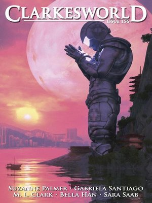 cover image of Clarkesworld Magazine Issue 156