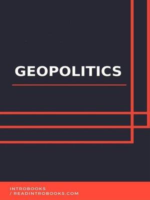 cover image of Geopolitics