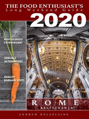 cover image of Rome--2020