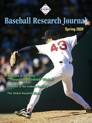 cover image of Baseball Research Journal
