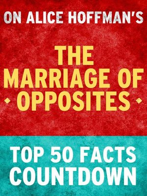 cover image of The Marriage of Opposites