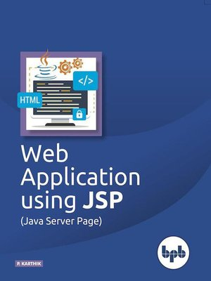 cover image of Web Application Using JSP