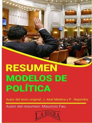 cover image of Resumen de Modelos de Política