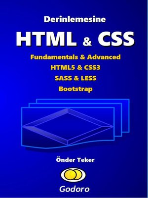 cover image of Derinlemesine HTML & CSS