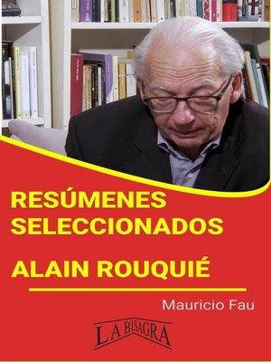 cover image of Alain Rouquié